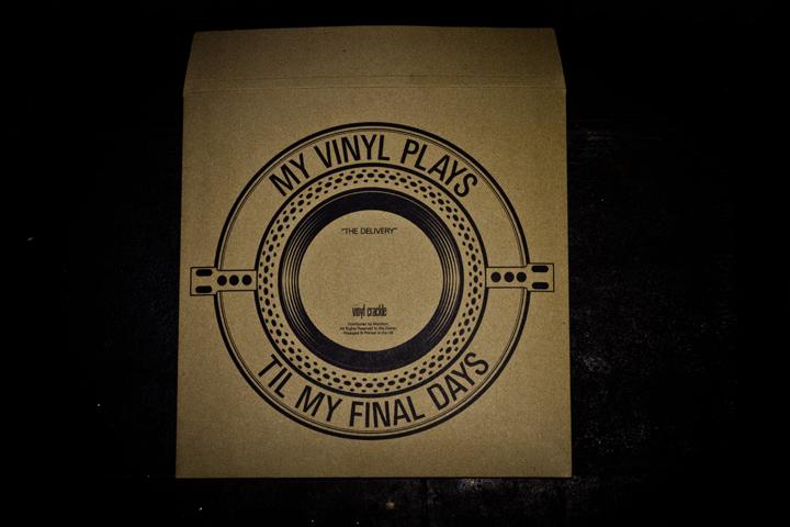 Vinyl Crackle Vinyl Mailer